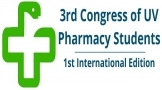 3rd Congress of UV Pharmacy Students. Universitat de València. 12 y 13 de Marzo