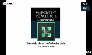 Participate in a webconference with the University of Valencia.
