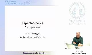 Espectroscopía. 1.- Espectros