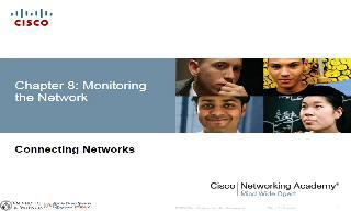 Chapter 8 (Monitoring the Network)