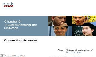 Chapter 9 (Troubleshooting the Network)