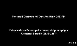 OFUV Extracte les Dances Borodin 2013