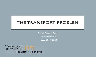In this video we model and solve with LINGO the transport problem.