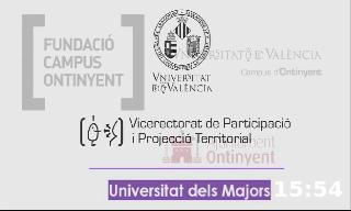Image of the cover of the video;Alumnes de la Universitat dels majors d'Ontinyent transmeten la seua memòria i patrimoni viu a joves estudiants
