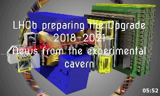 Imagen de la portada del video;LHCb Cavern Summer 2019
