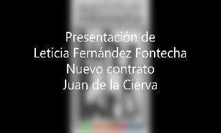 Image of the cover of the video;PRESENTACIÓN LETICIA fERNÁNDEZ