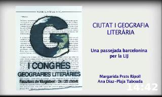 Ciutat i geografia literària