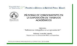 06) Referencias en una presentación (Paloma Escamilla Fajardo)