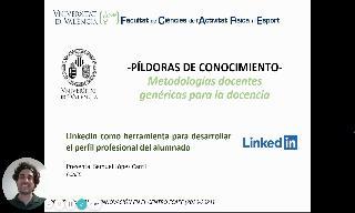 14) Linkedin como herramienta para desarrollar el perfil profesional del alumnado (Samuel López Carril)