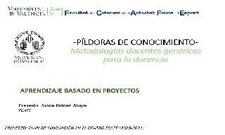 17) El aprendizaje basado en proyectos (Ainoa Roldan Aliaga)