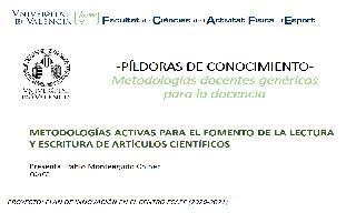 18) Artículos Científicos (Pablo Monteagudo Chiner)