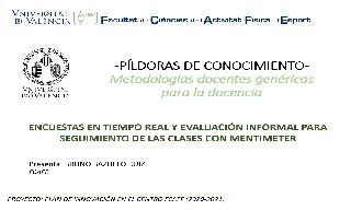 08) Presentación y aplicaciones de la APP Mentimeter (Bruno Bazuelo Ruiz)