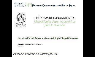 09) Introducción del Kahoot en la metodología Flipped Classroom (Roberto Sanchís Sanchís)
