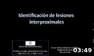 Identificación de lesiones de caries interproximales