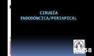 Pasos clínicos en cirugía periapical