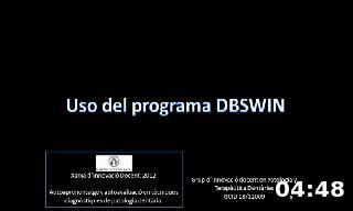Uso del programa DBSWIN