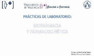 Practica 4 Biofarmacia y Farmacocinética